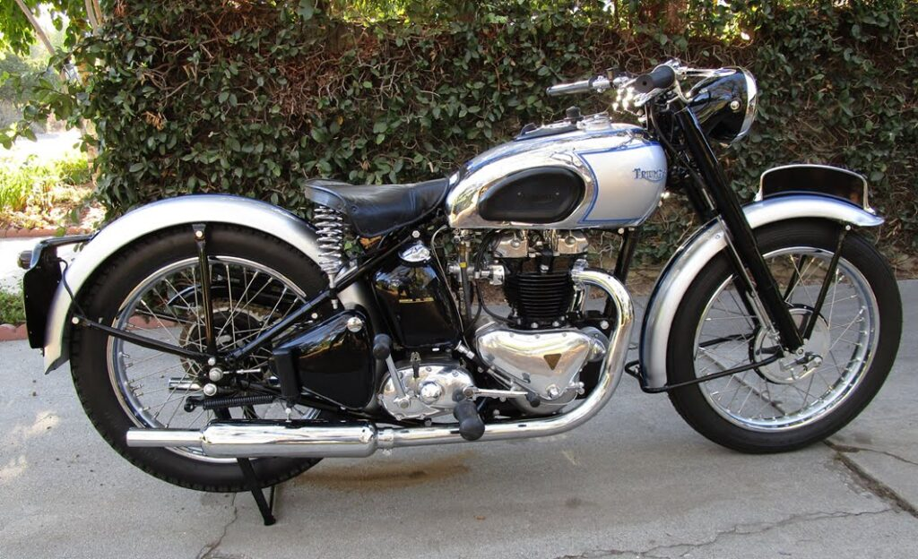 1948 Triumph Tiger 100 Restoration