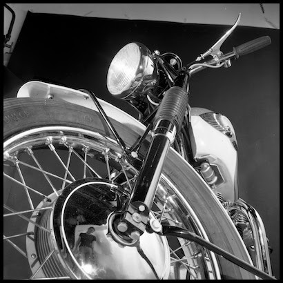 Studio packshots taken as part of a set for BSA & Triumph Motorcycles.