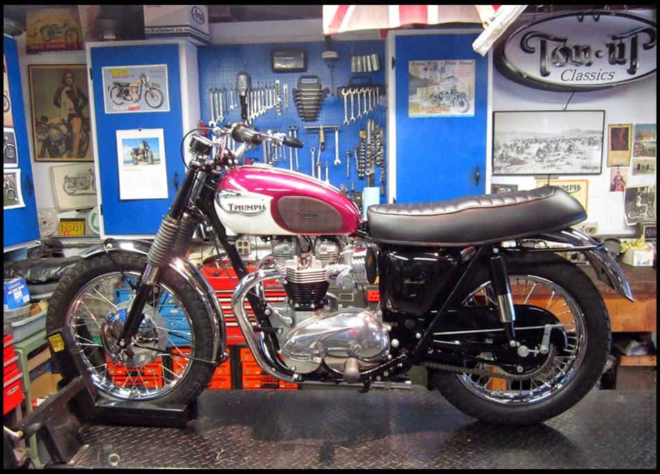 1948 Triumph Tiger 100 Restoration
