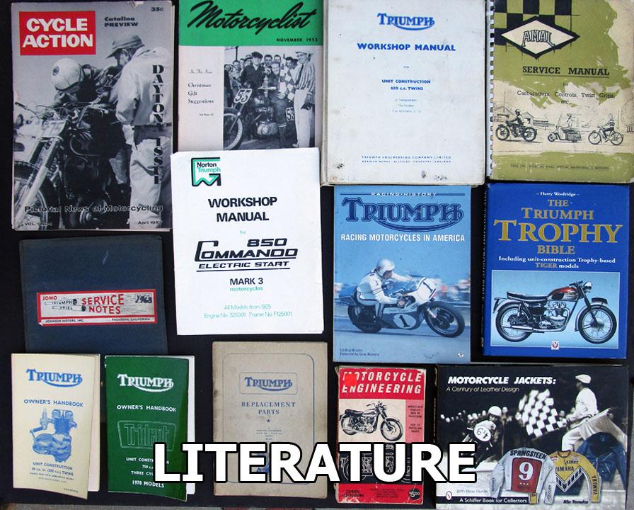 Vintage Motorcycle Literature