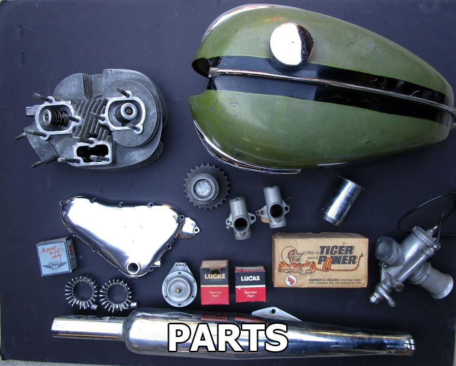 Vintage Motorcycle Parts