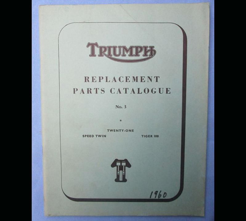 TRIUMPH 350/500cc MOTORCYCLE MANUAL BOOK 1960 3TA SPEED TWIN 5TA TIGER 100 T100 - LITERATURE