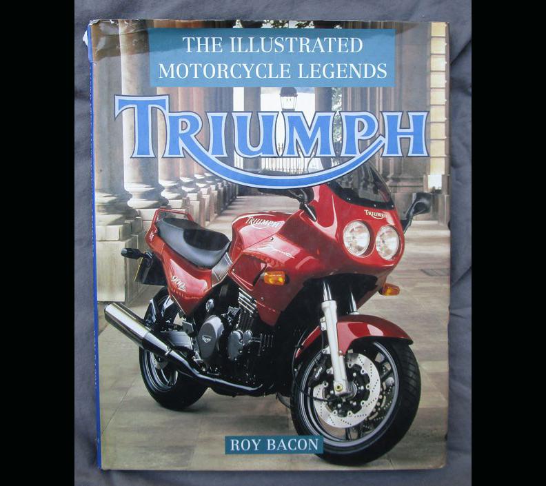 TRIUMPH LEGEND MOTORCYCLE BOOK PRE & UNIT 20s 30s POST WAR BONNEVILLE HINCKLEY - LITERATURE