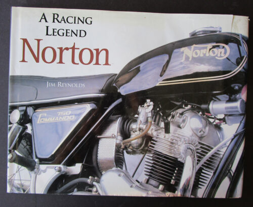 vintage norton motorcycle book