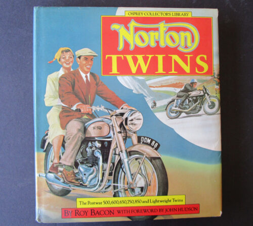 norton twin motorcycle book