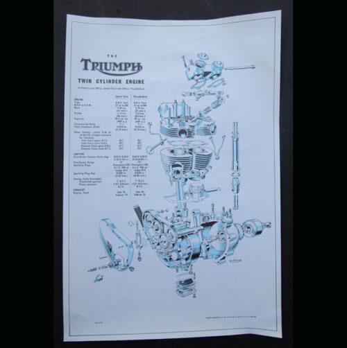 pre unit triumph engine