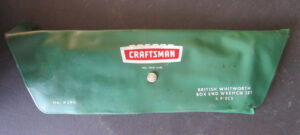 VINTAGE CRAFTSMAN BRITISH WHITWORTH BOX END WRENCH SET CLASSIC MOTORCYCLE MOTOR CAR - PARTS