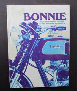TRIUMPH BONNEVILLE T120 MOTORCYCLE JR NELSON BOOK BONNIE T120R TT SPECIAL T120C  - LITERATURE