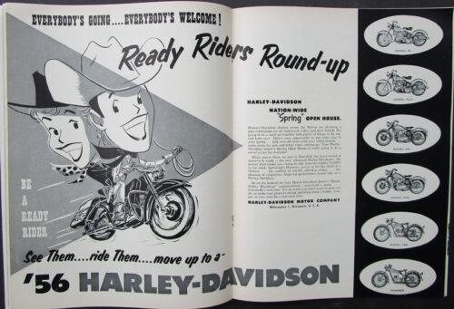 vintage harley racing