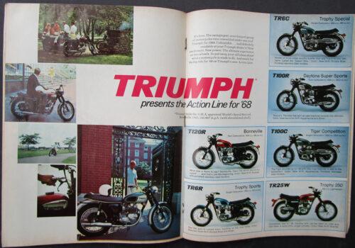 1968 TRIUMPH MOTORCYLE