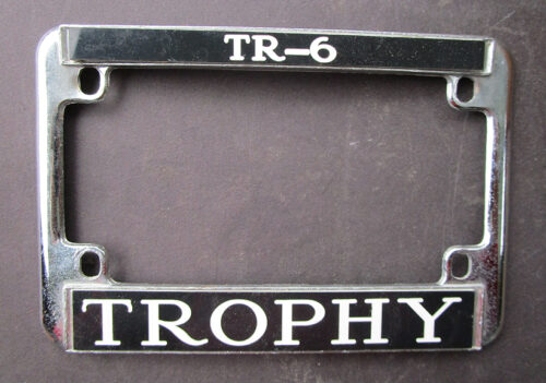 triumph tr6 trophy