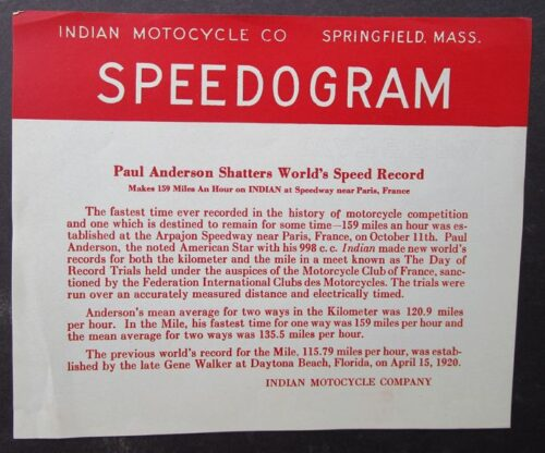 indian motocycle vintage
