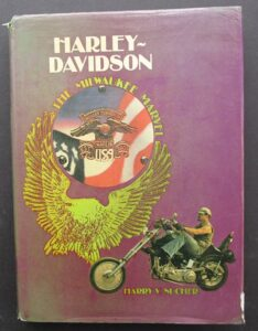 HARLEY DAVIDSON MOTORCYCLE BOOK SIGNED SUCHER VINTAGE KNUCKLEHEAD PANHEAD TWIN - LITERATURE