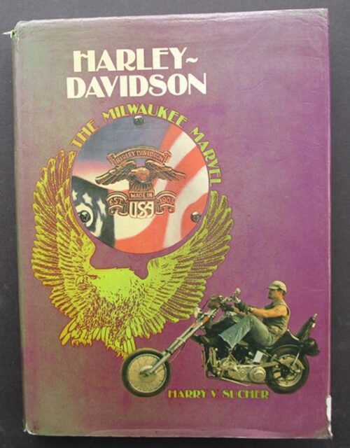 vintage harley book