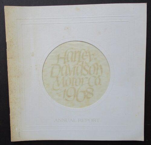 1968 harley davidson
