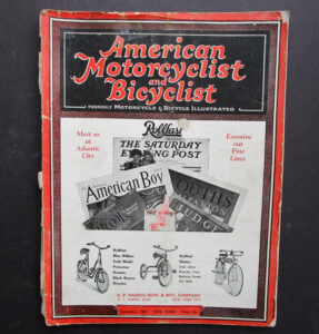 1928 AMERICAN MOTORCYCLIST MAGAZINE BOOK INDIAN HENDERSON HARLEY EXCELSIOR - LITERATURE