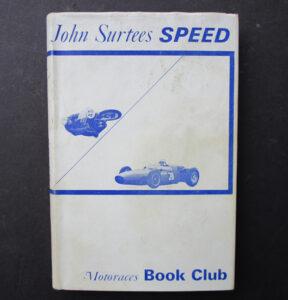VINTAGE JOHN SURTEES SPEED MOTORCYCLE MOTOR CAR RACING 1964 AUTOBIOGRAPHY BOOK  - LITERATURE