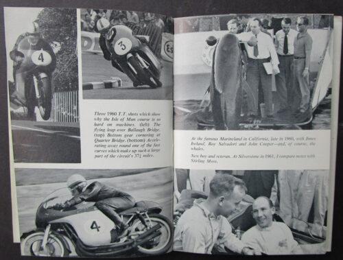 VINATGE MOTORCYCLE RACING BOOK