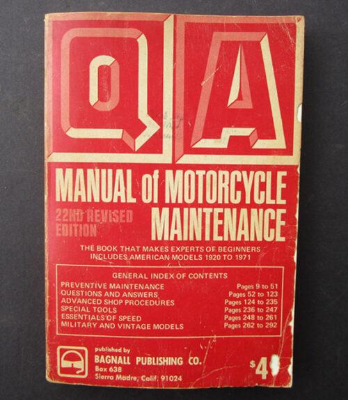 american motorcycle manual