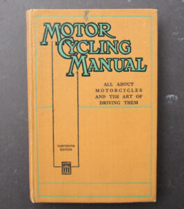 VINTAGE MOTORCYCLE MANUAL BOOK VINCENT TRIUMPH BSA NORTON AJS ENFIELD MATCHLESS  - LITERATURE