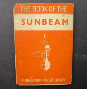 VINTAGE SUNBEAM MOTORCYCLE MANUAL BOOK 1928-1939 MODELS AMAL SMITHS LUCAS 1958 - LITERATURE