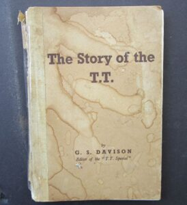 1947 STORY OF THE TT VINTAGE MOTORCYCLE RACING BOOK ISLE OF MAN NORTON AJS T.T. - LITERATURE