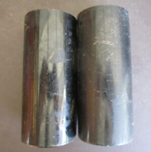 GIRLING MOTORCYCLE SHOCK SHROUDS CLASSIC VINTAGE TRIUMPH NORTON BSA AJS ENFIELD - PARTS