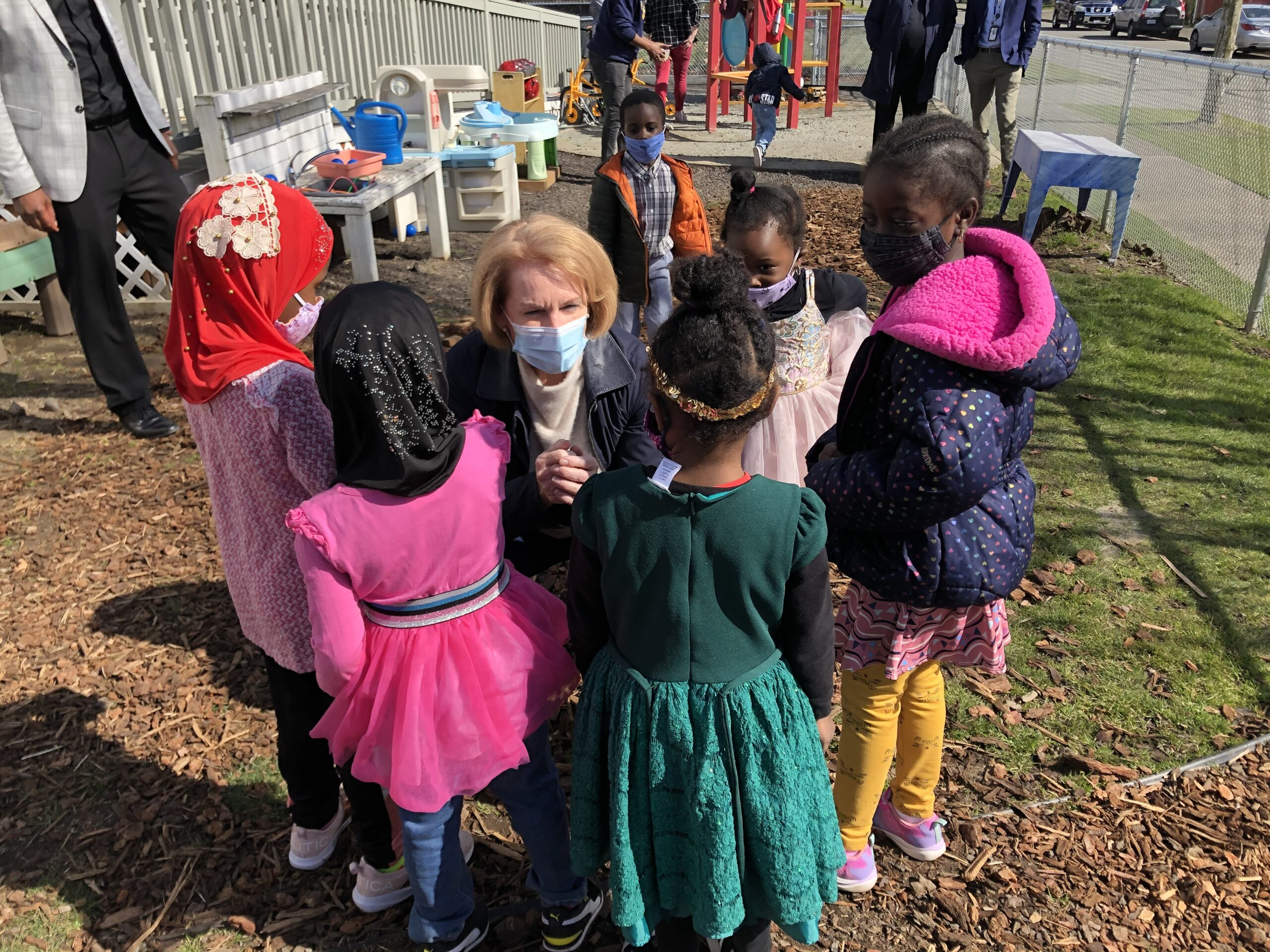 A Visit from Mayor Durkan