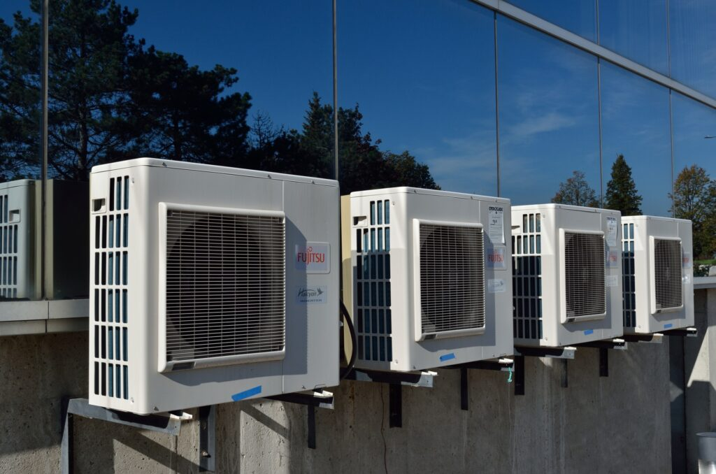 four air conditioners