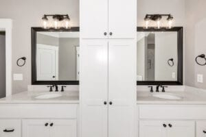 A G-Double Vanity in Master