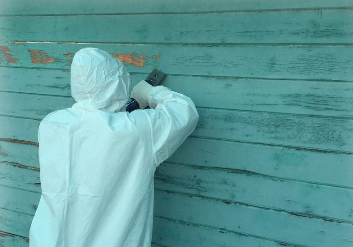Find out if you have lead paint with a lead inspection