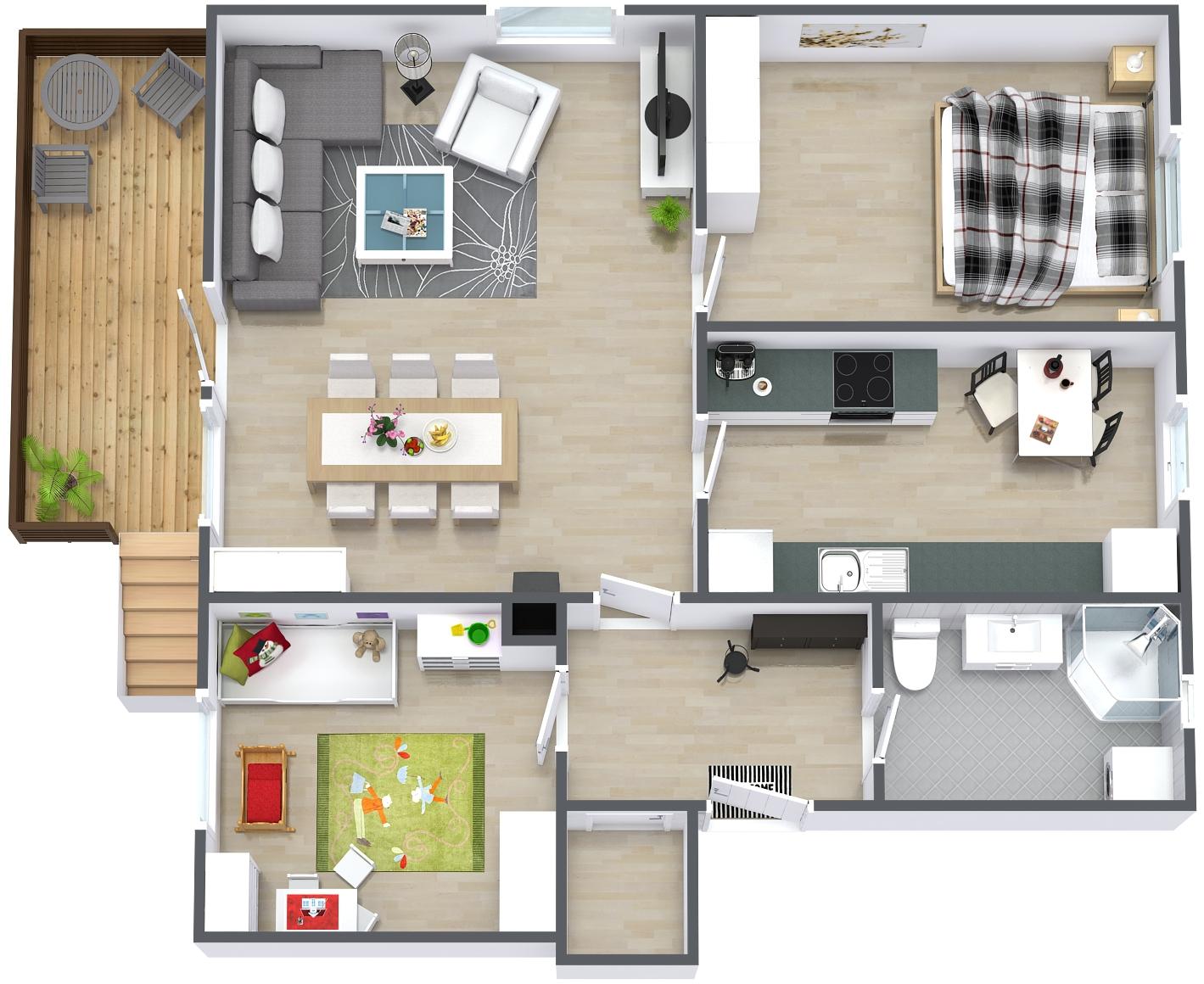 Warranty home inspection - floor plan