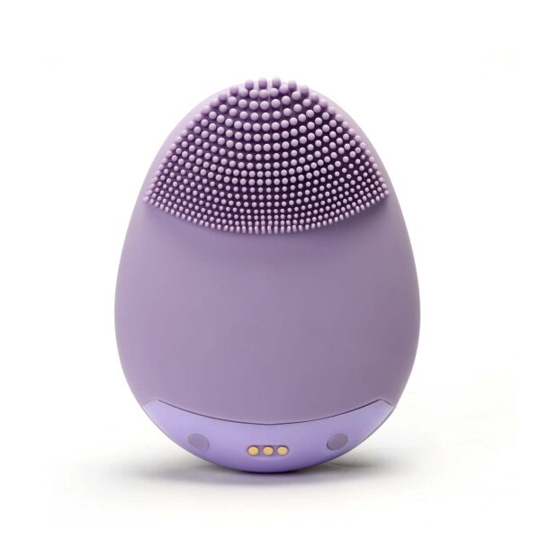 Back side of battery operated facial brush