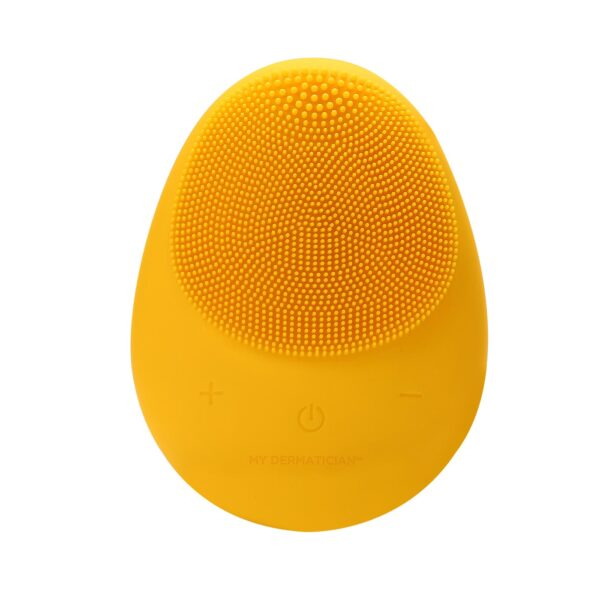 Facial cleansing power brush in Yellow