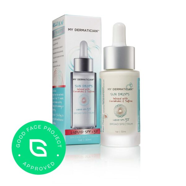 Sunscreen Drops for Under Makeup