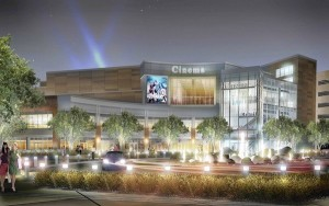 Rendering of the Chicago development of ArcLight Cinema opening in New City in 2014.__cr: ArcLight Cinema