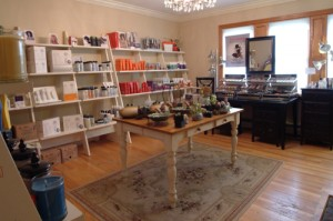 The hair salon at Coventina Day Spa in Waterford, PA