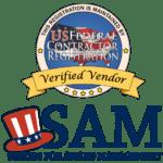 SAM verified vendor seal