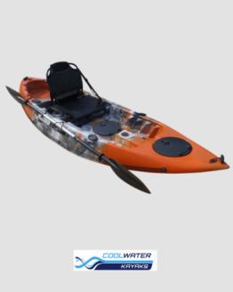 Cool Water Kayaks, Single, Fishing, and Double Kayaks