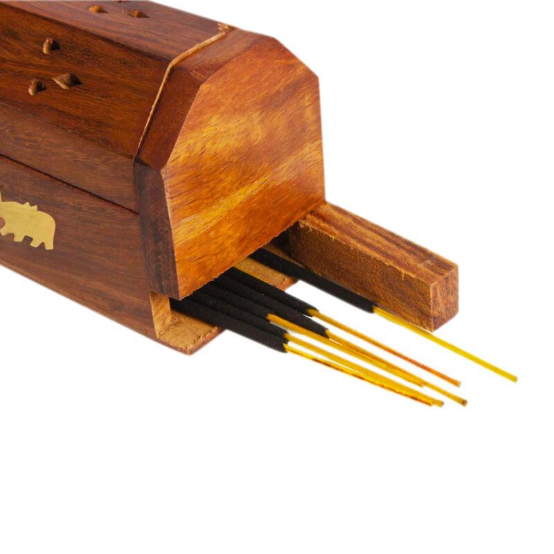 wooden agarbatti stand image view 7