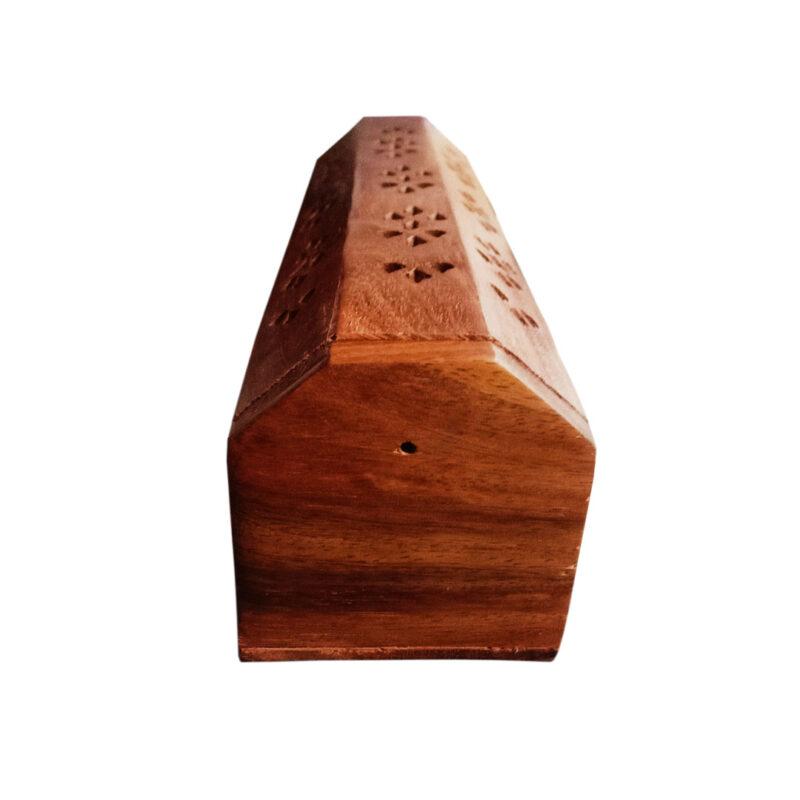 wooden agarbatti stand image view 4