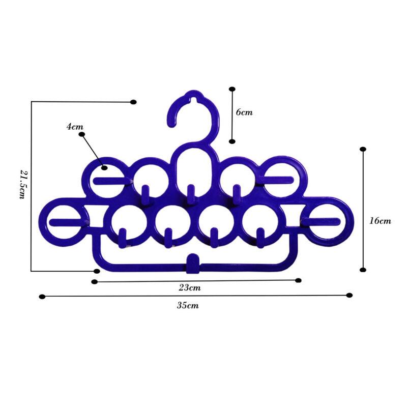 11 rings plastic hanger image view 5