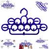 11 rings plastic hanger