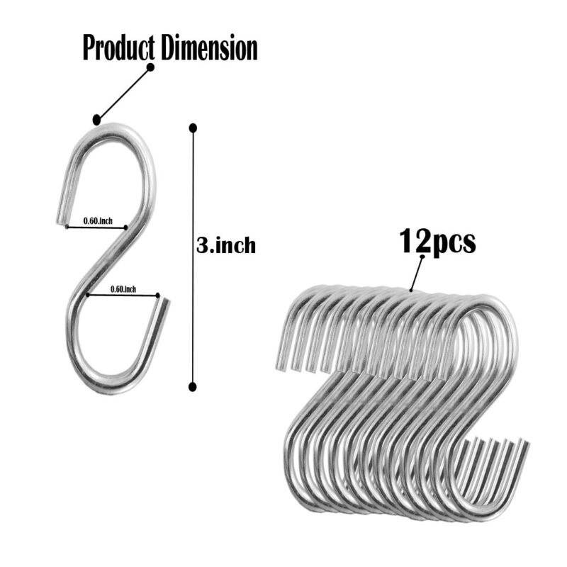 3 inch s hooks image view 3
