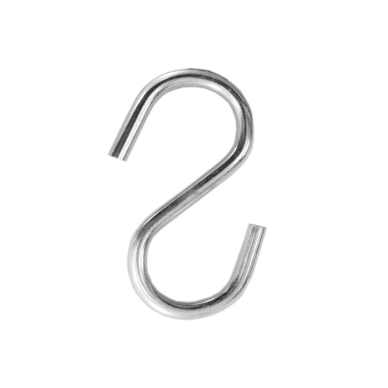 Multipurpose Stainless Steel S Hook 3 Inch - 6PCs-Image View 5