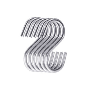 Multipurpose Stainless Steel S Hook 3 Inch - 6PCs-Image View 4