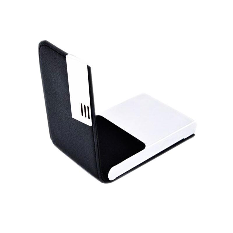3 line card holder black image view 6