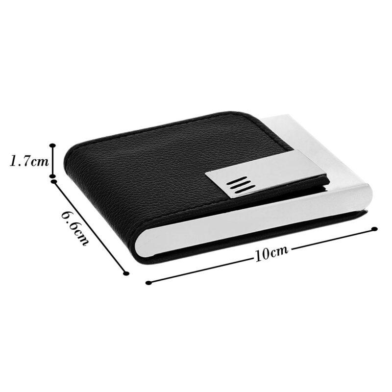 3 line card holder black image view 4