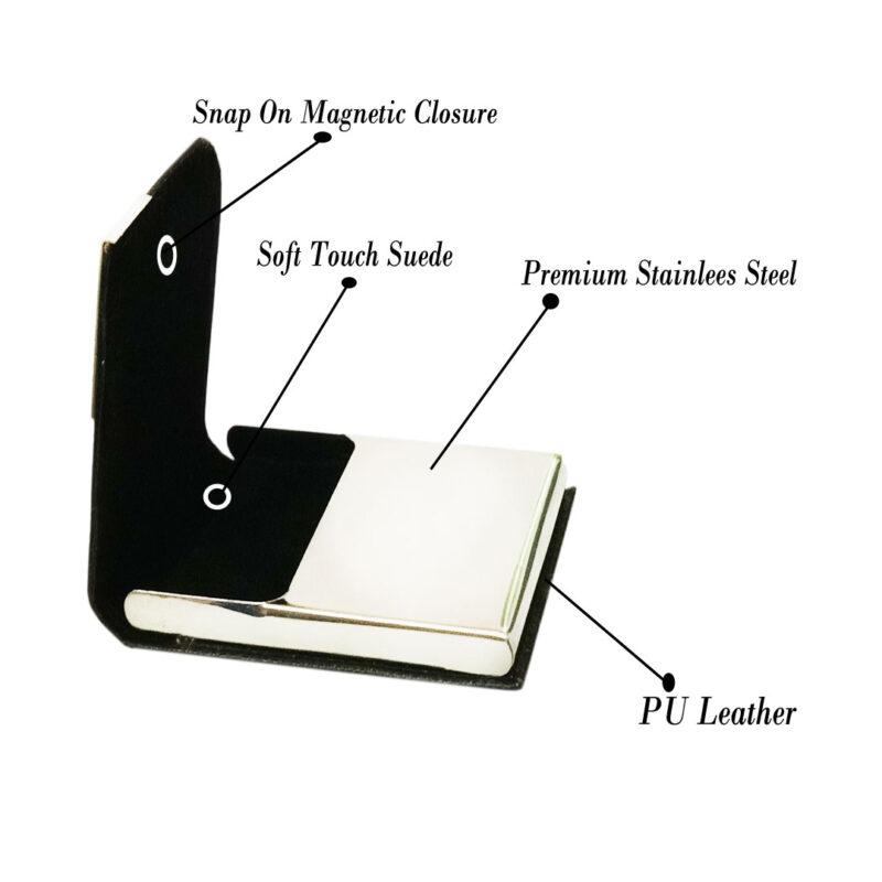 3 line card holder black image view 3