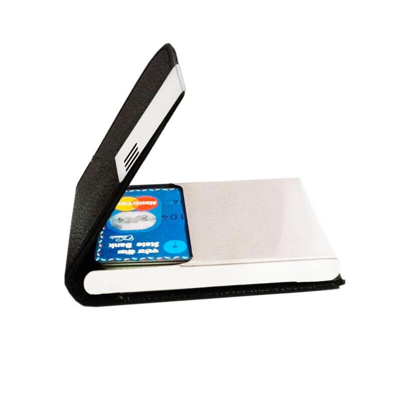 3 line card holder black image view 2